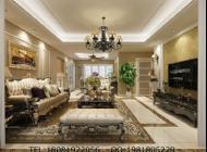 装修案例:成都最好的别墅装修公司城南一号美式风格装修案例