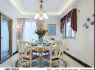 装修案例:成都川豪装饰170平米法式情迷了巴洛克风格