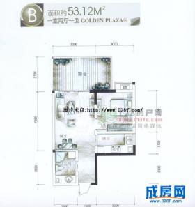 紫金乐章-户型图
