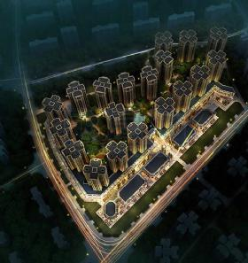 万科城-外观环境图