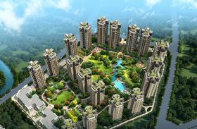 中国铁建北湖国际城-外观环境图