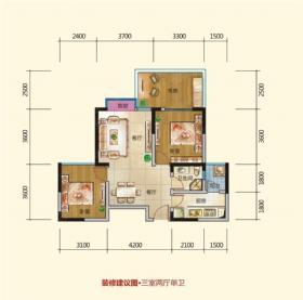 颐和京都-户型图