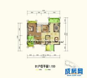 武海中华名城-户型图